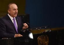 Çavuşoğlu: Başbakanınız konuşmayı bıraksın
