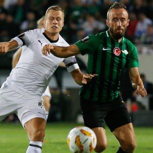 Akhisarspor Avrupa'daki ilk maçında üzdü
