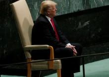 BM'de skandal! Trump sırasını kaçırdı