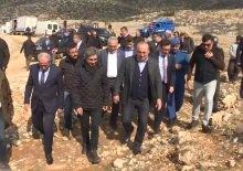 Bakan Çavuşoğlu, dizi setini ziyaret etti