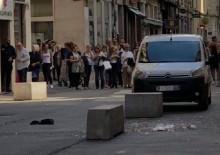 Fransa'da bombalı saldırı! Yaralılar var!